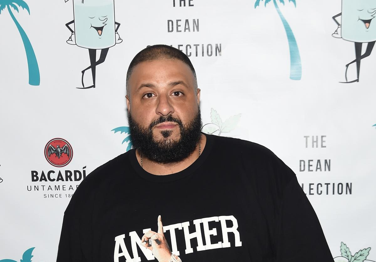 DJ Khaled at a party in Miami.