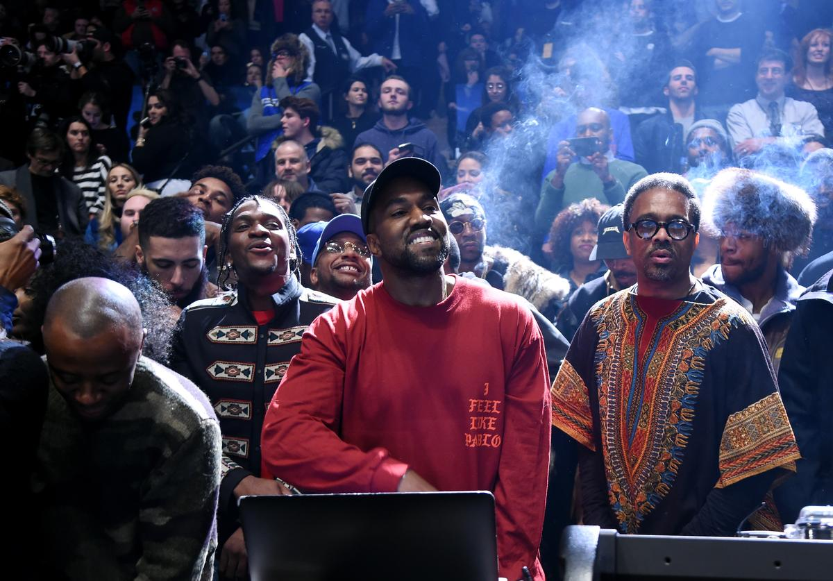 Kanye West debuts Yeezy 3 show at MSG