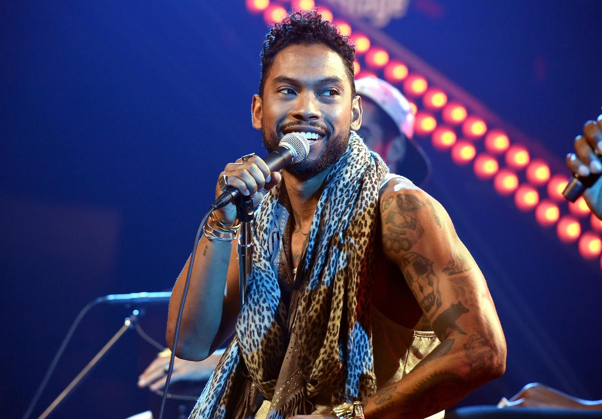 Singer Miguel performs on The Honda Stage at the iHeartRadio Theater on July 17, 2015 in Burbank, California