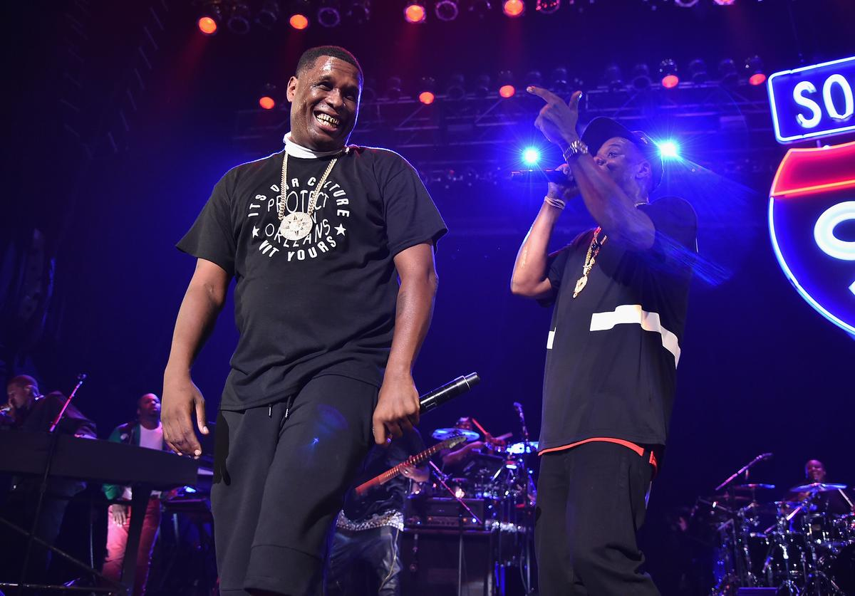 Jay Electronica performs with Jay Z at a TIDAL X event.