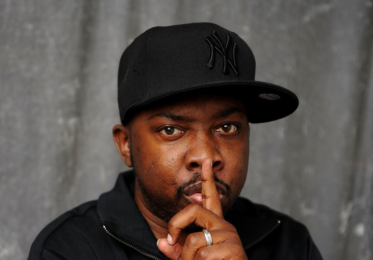 Recording artist Phife Dawg of A Tribe Called Quest visits the Tribeca Film Festival 2011 portrait studio on April 27, 2011 in New York City.