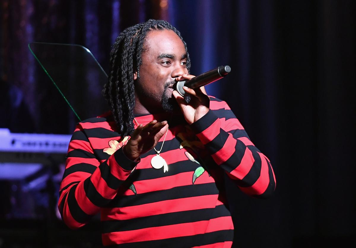Wale on stage at ASCAP Awards