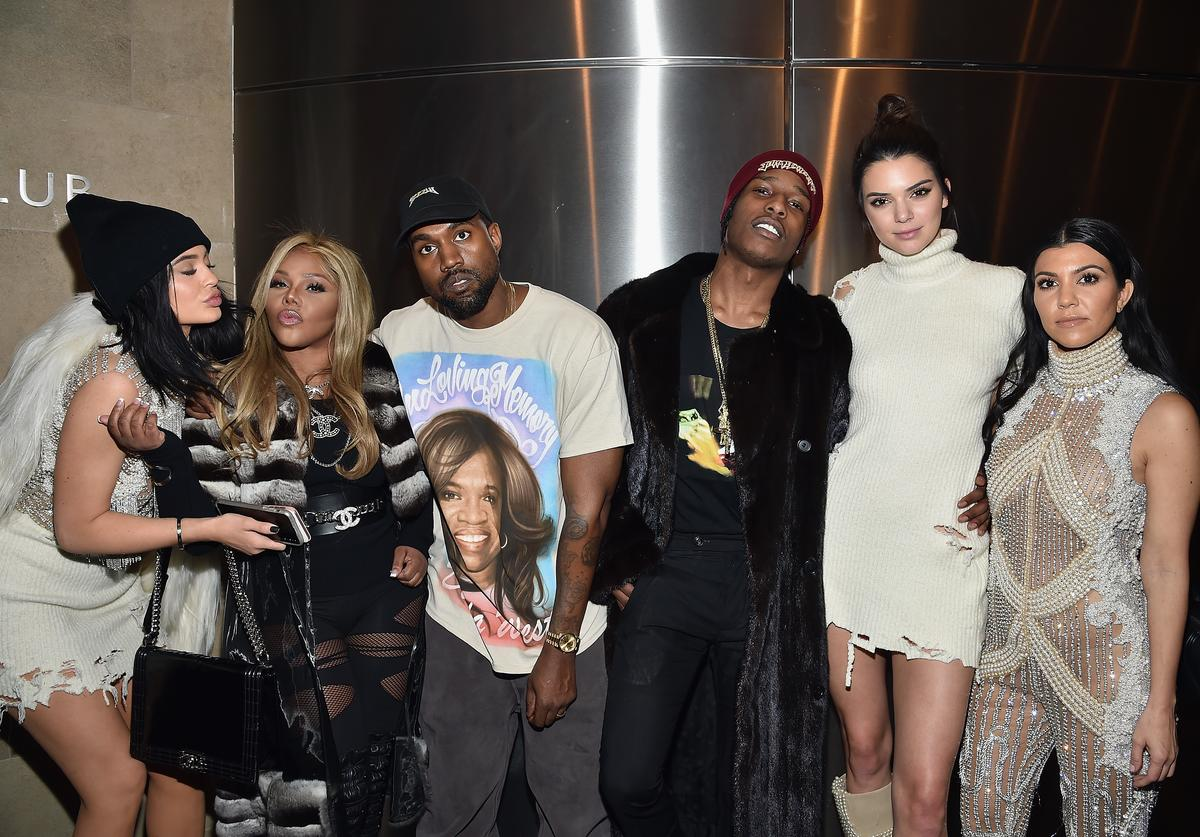 ASAP Rocky and the Kardashian family