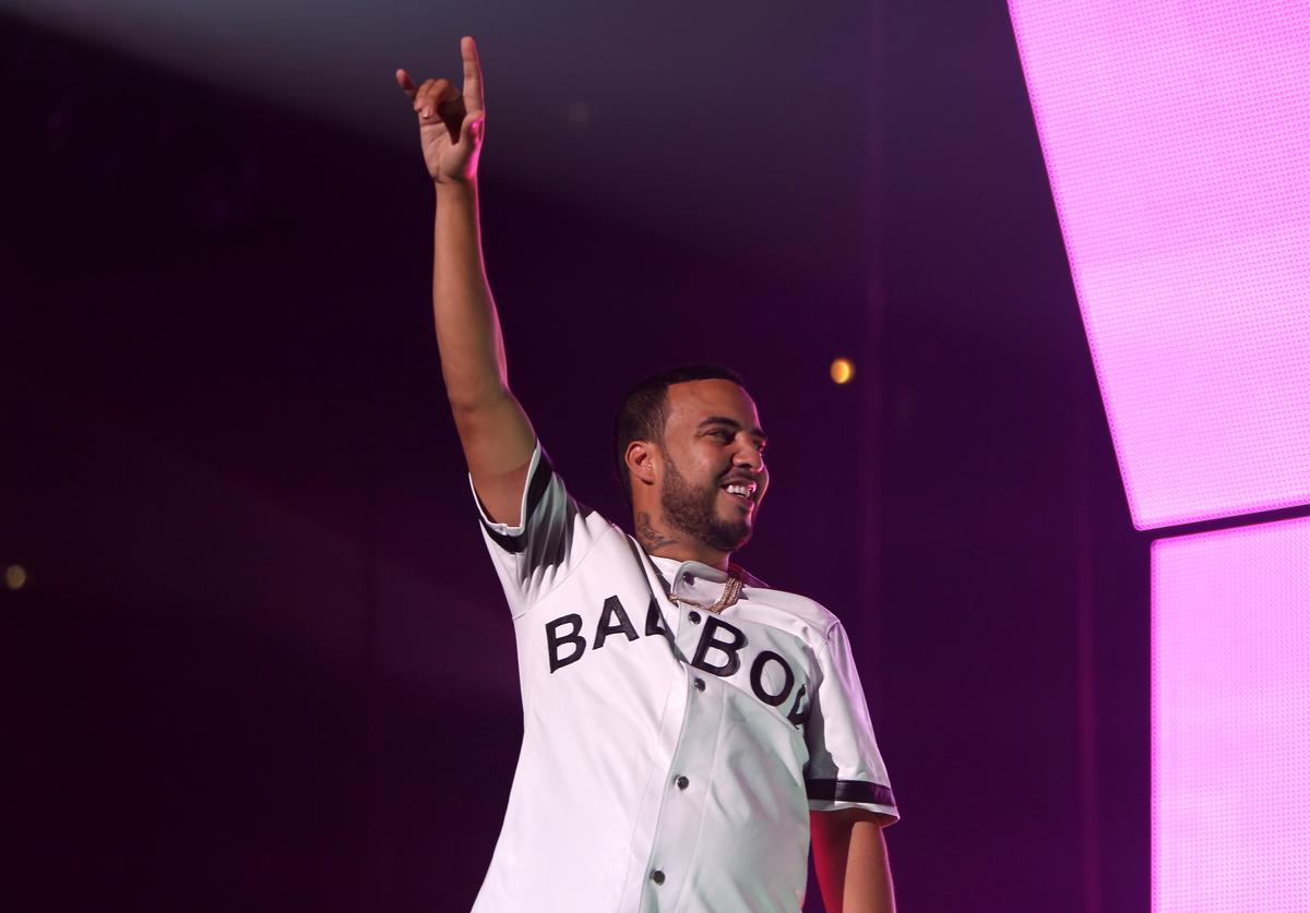 French Montana at Bad Boy show