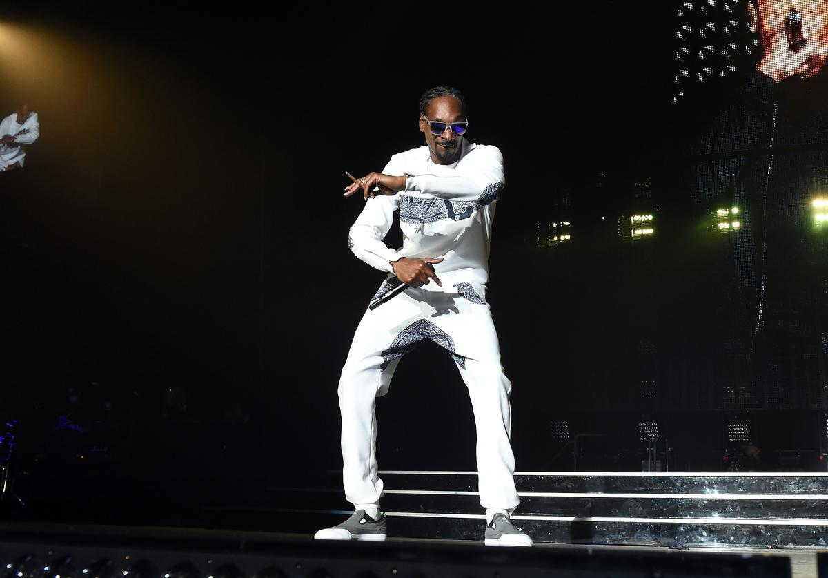 Snoop Dogg at Puff Daddy And Bad Boy Family Reunion Tour