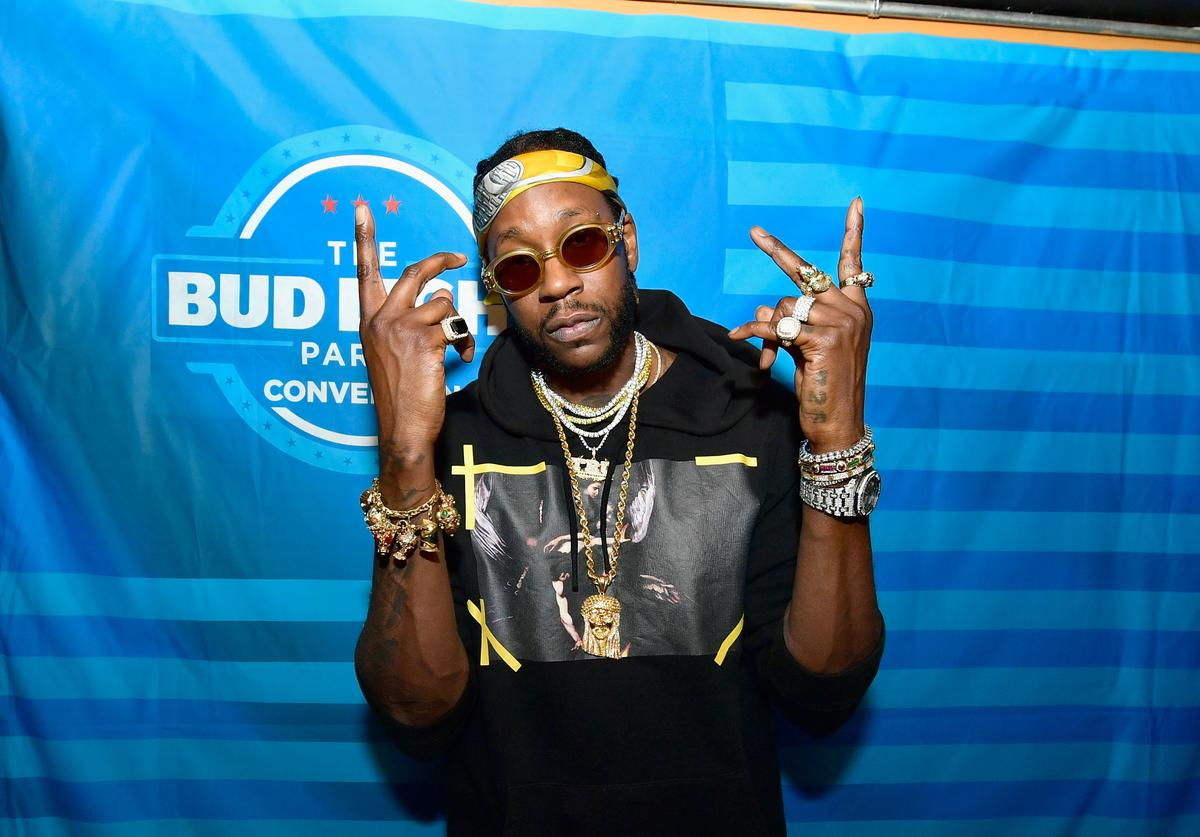 2 Chainz at bud light event