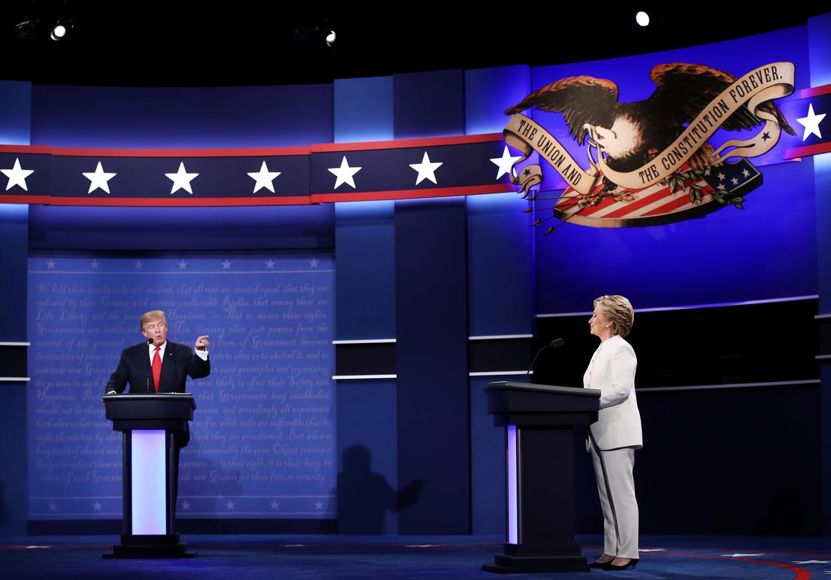Donald Trump & Hilary Clinton final debate