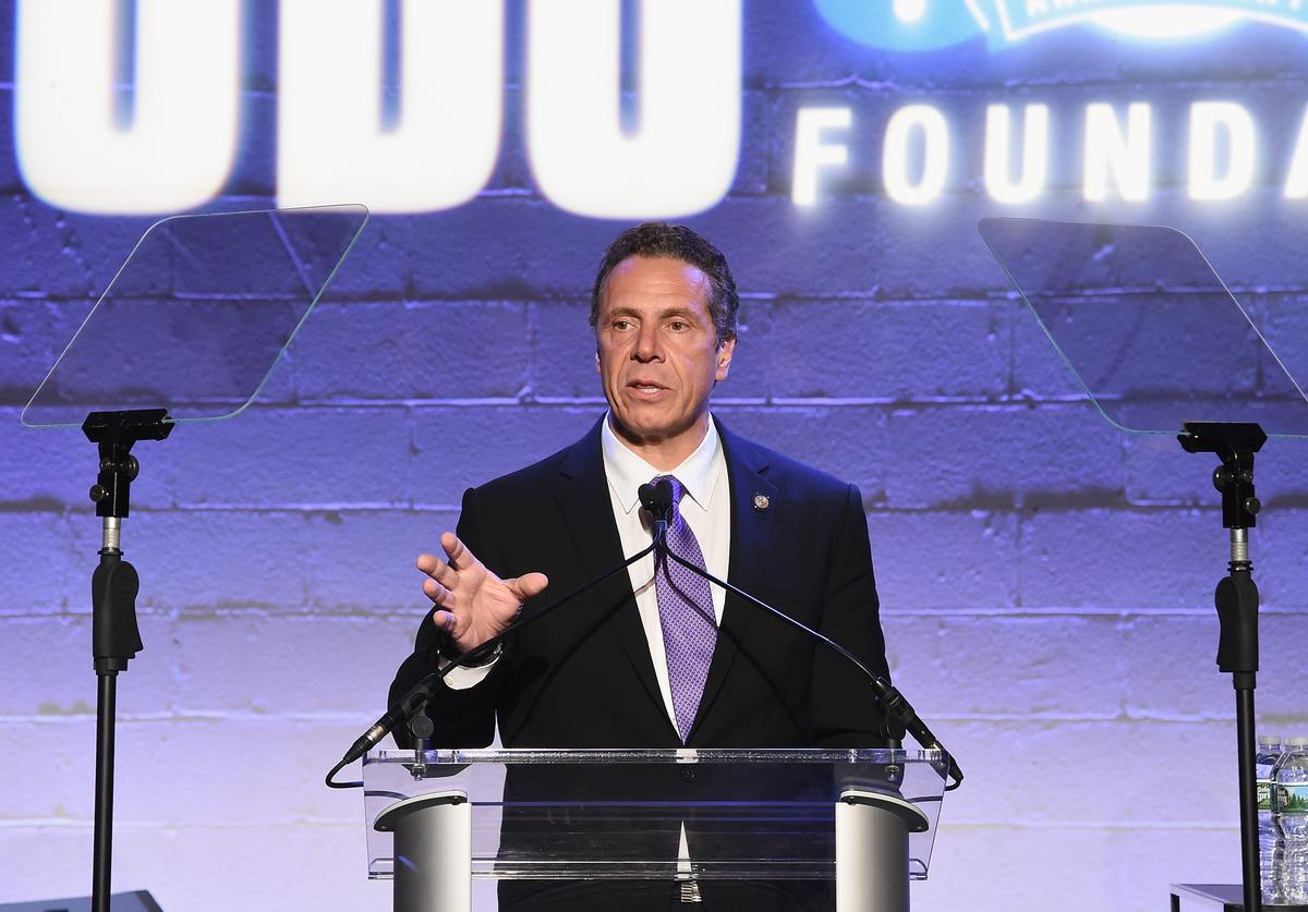 Governor Andrew Cuomo attends the Jon Bon Jovi Soul Foundation's 10 year anniversary at the Garage on October 6, 2016 in New York City.