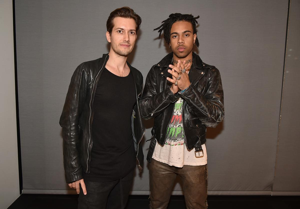 SoundCloud CEO Alex Ljung and Vic Mensa attend the SoundCloud Artist Forum Afterparty at Samsung 837 on November 16, 2016 in New York City.