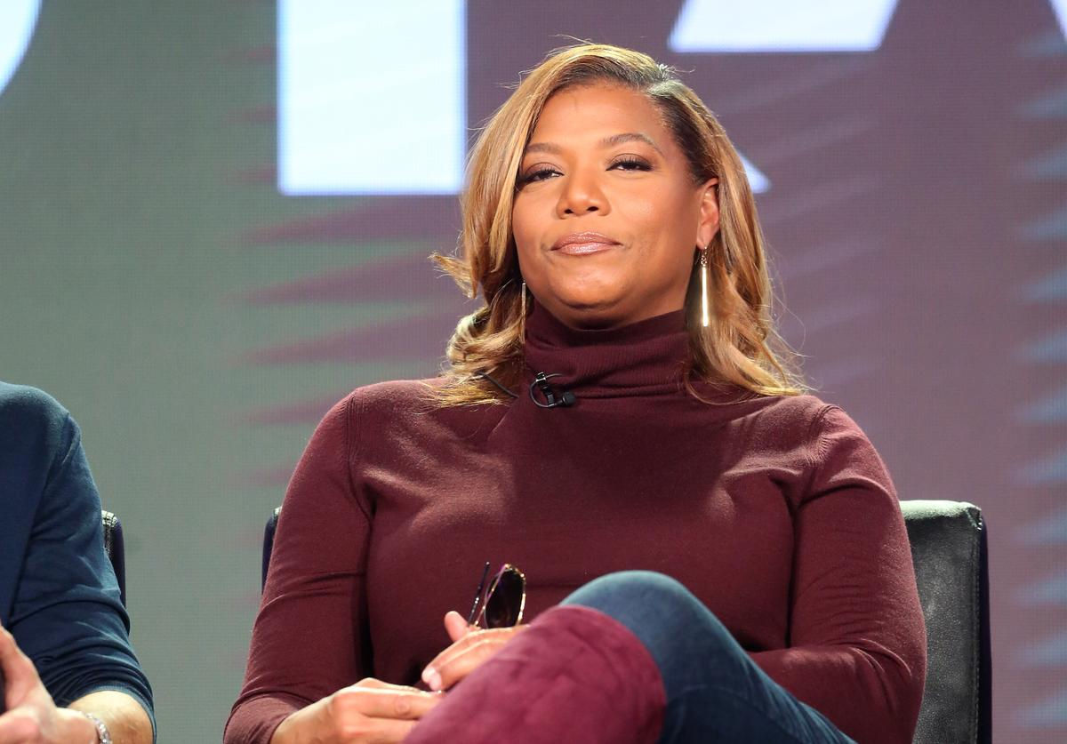 Actress Queen Latifah of the television show 'Star' speaks onstage during the FOX portion of the 2017 Winter Television Critics Association Press Tour at Langham Hotel on January 11, 2017 in Pasadena, California.