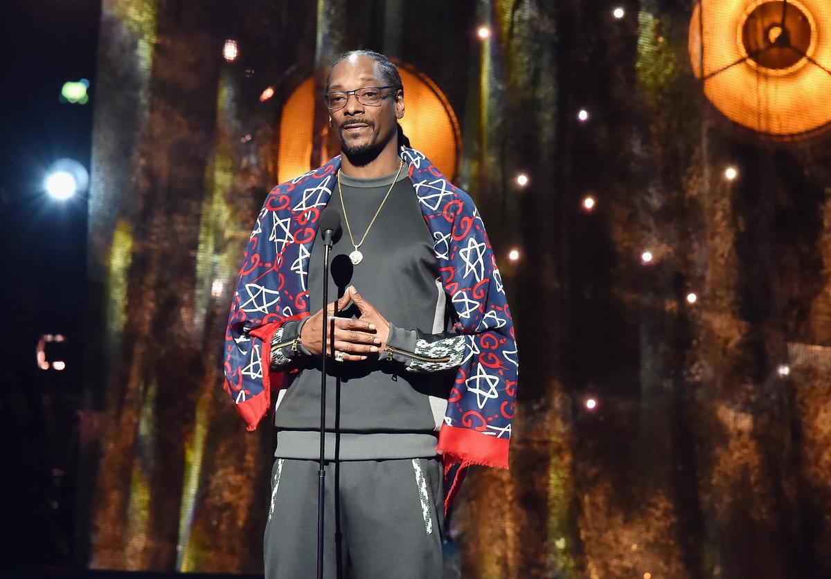 Snoop Dogg at 2017 Rock & Roll Hall Of Fame