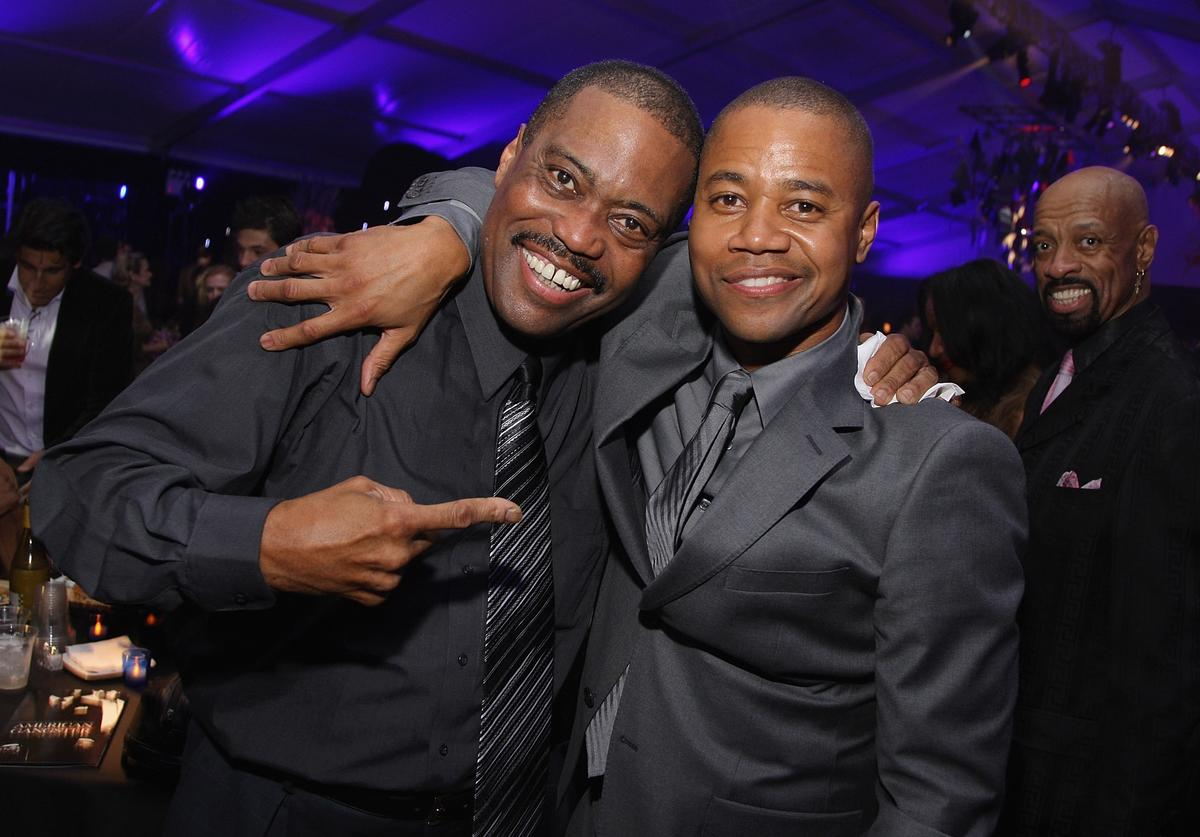 Cuba Gooding Jr. & his dad