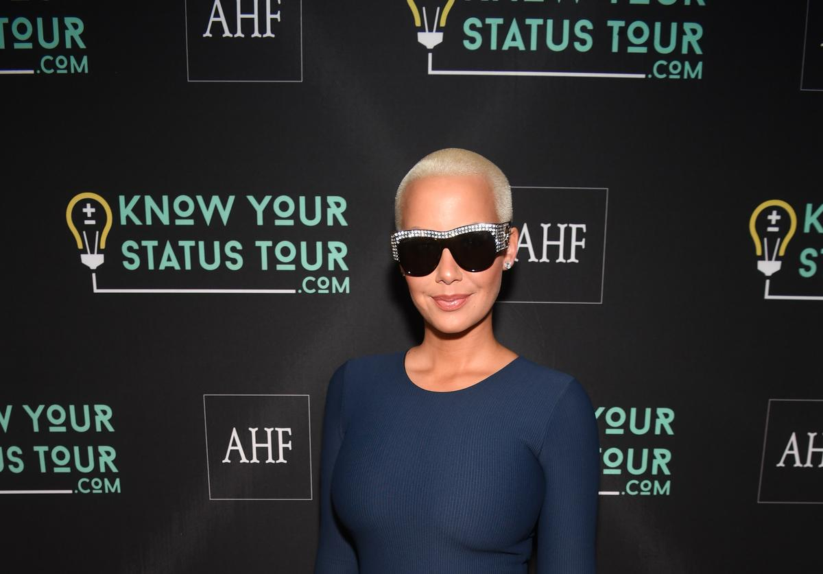 Amber Rose AHF Presents The Know Your Status Tour - Atlanta