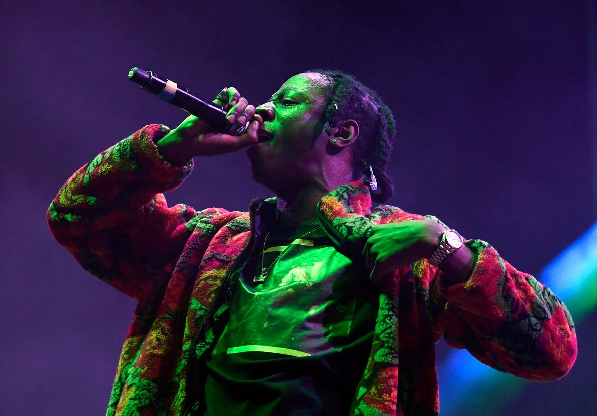 Joey Bada$$ Tyler, the Creator's 5th Annual Camp Flog Gnaw Carnival - Day 2