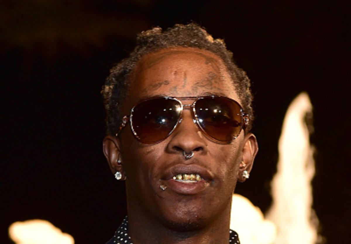 Young Thug at Ross 40th birthday