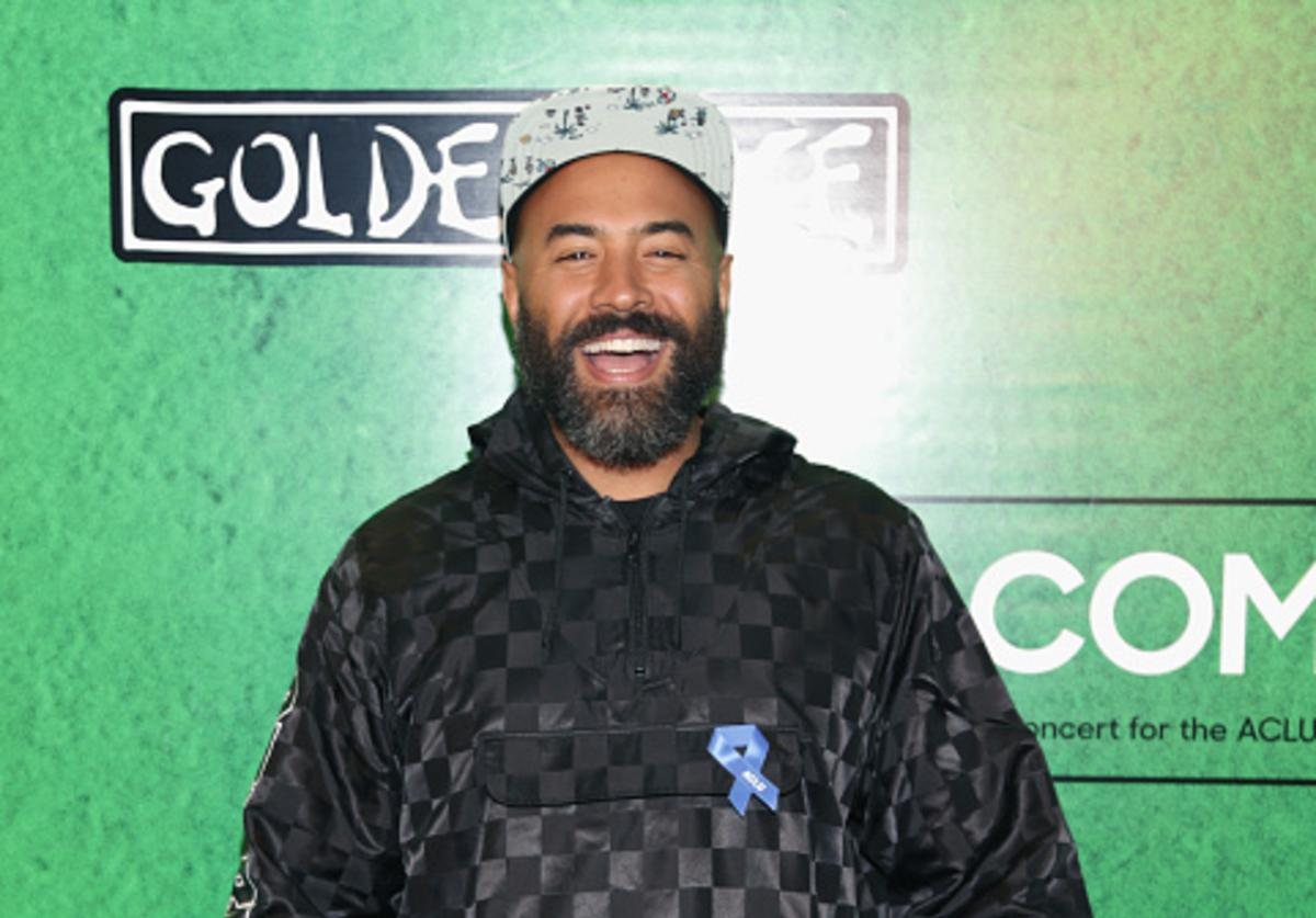 Ebro at fundraiser for ACLU