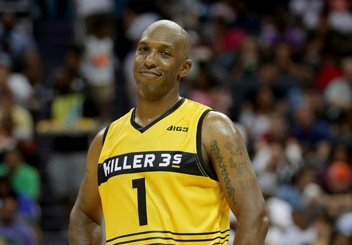 Chauncey at Week 2 of the Big3 League