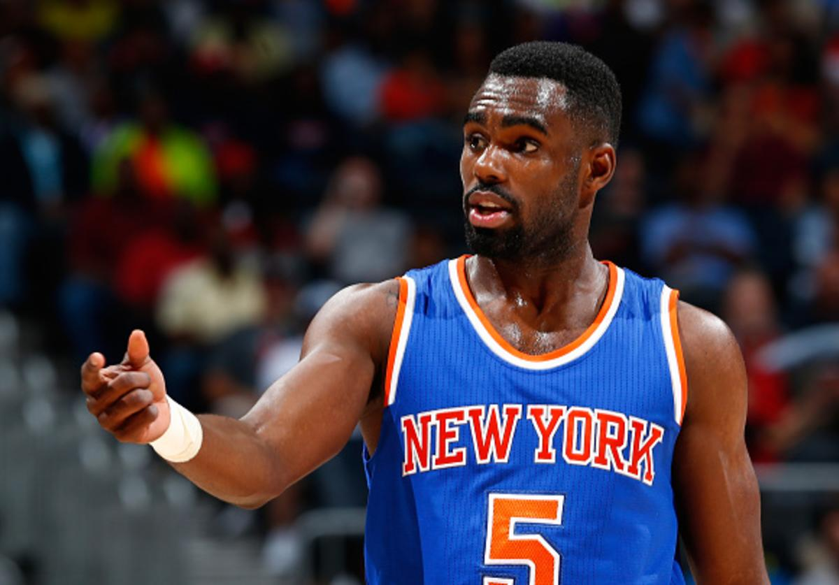 Hardaway Jr during his first stint with NYK