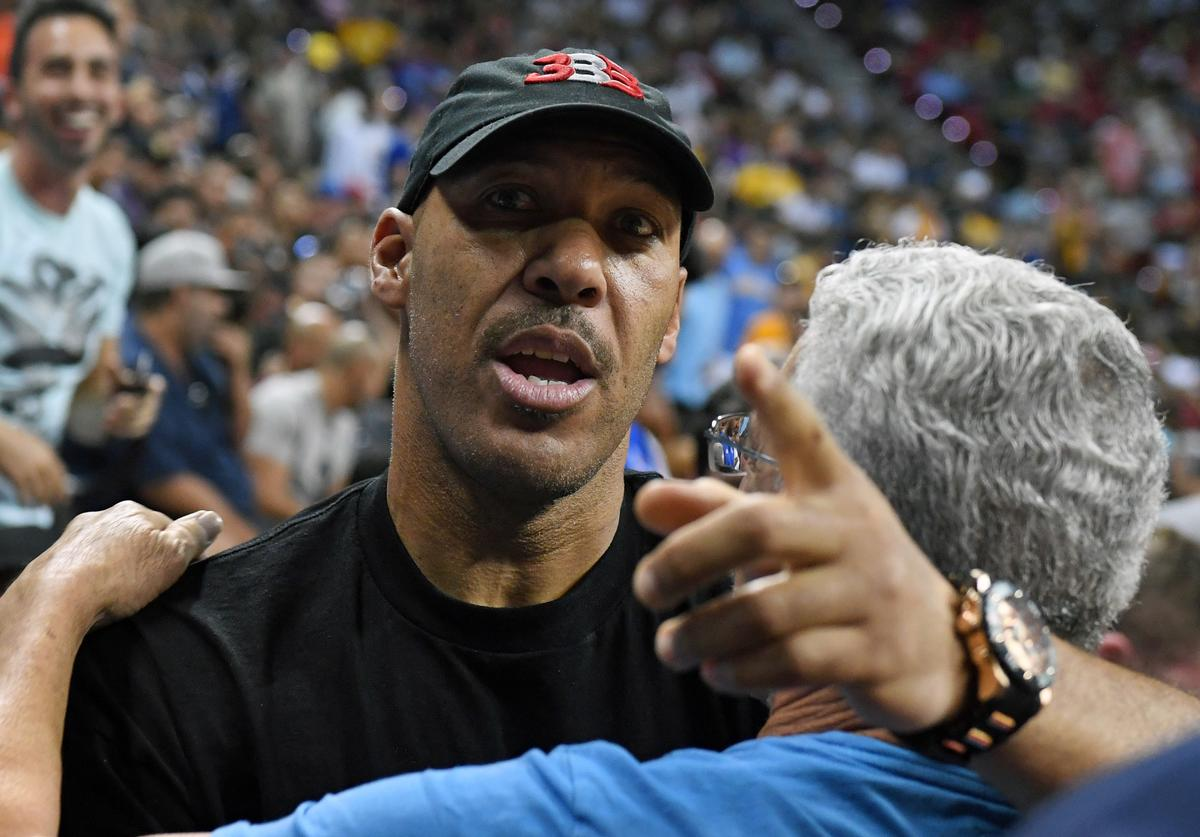 LaVar Ball 2017 Las Vegas Summer League - Los Angeles Clippers v Los Angeles Lakers