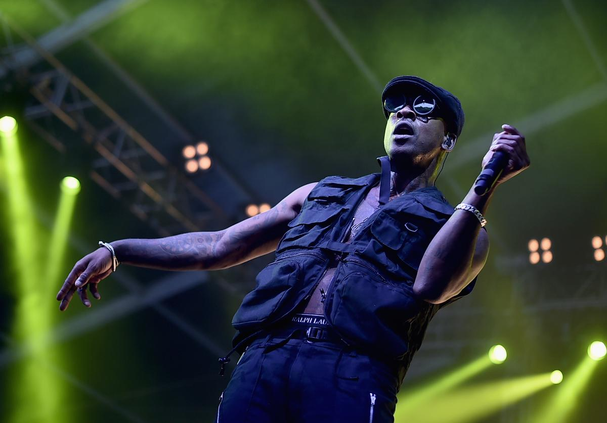 Skepta 2017 The Governors Ball Music Festival - Day 3