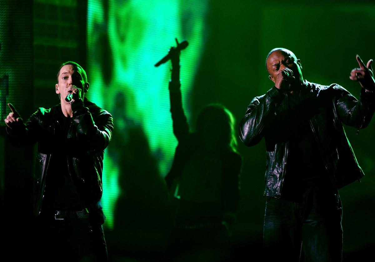 Eminem The 53rd Annual GRAMMY Awards - Show