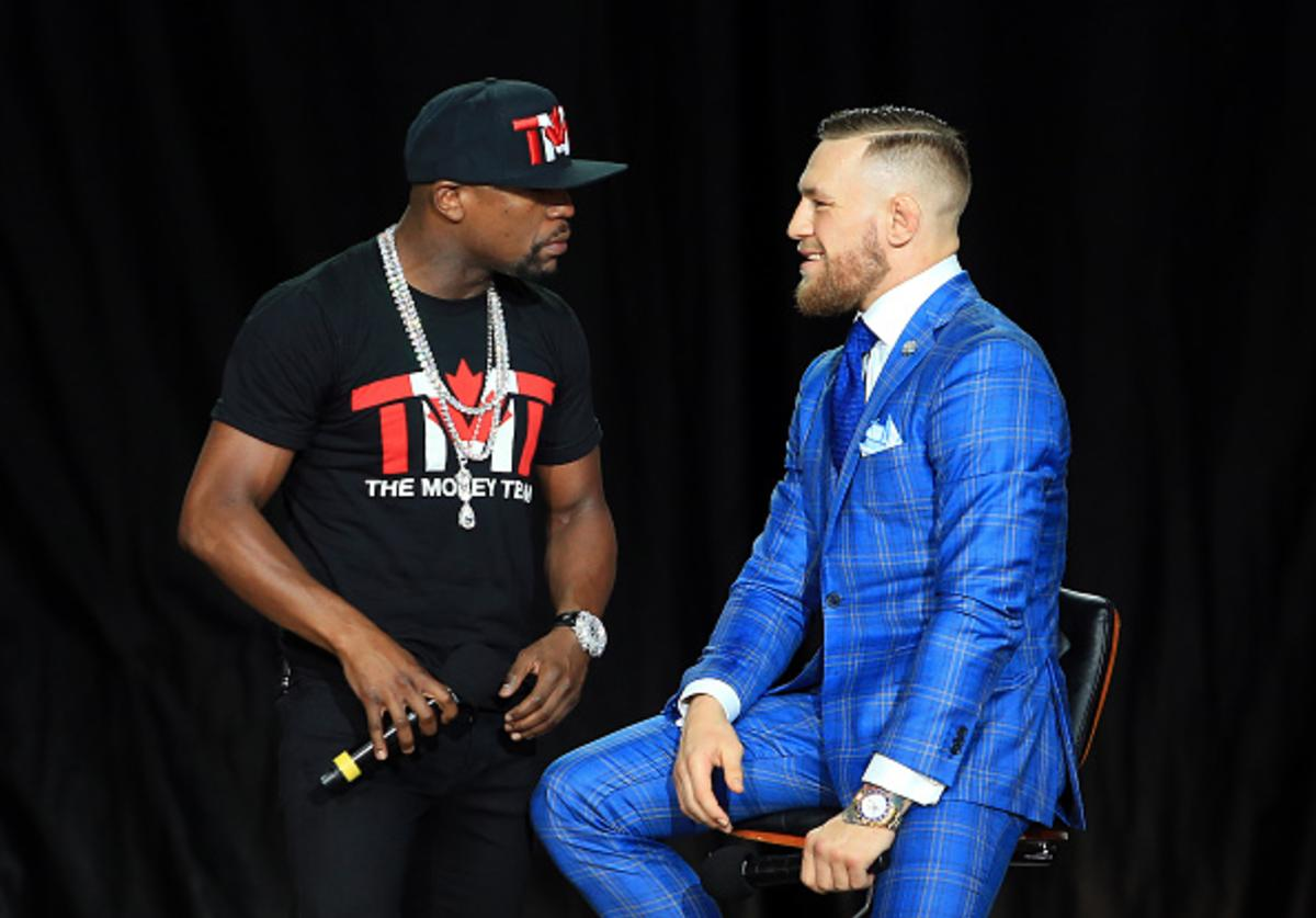 Floyd and Conor at presser #2