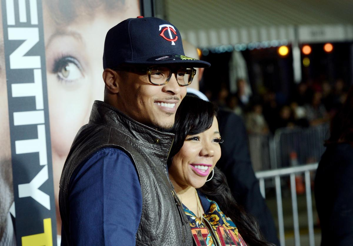 T.I., Tiny Premiere Of Universal Pictures' 'Identity Thief' - Red Carpet