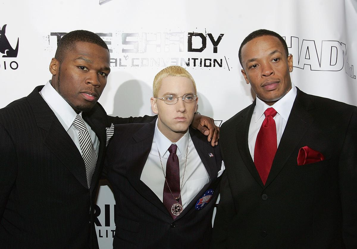 Eminem And Sirius Satellite Launches Hip-Hop Channel At Roseland