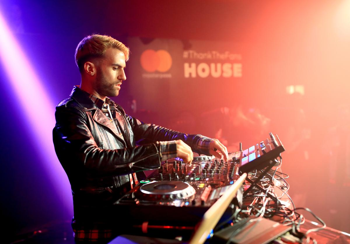 A-Trak performing on stage