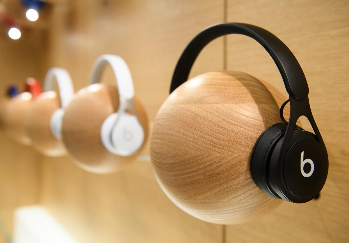Beats by Dre Preview Of Upgraded Apple Store In Regent Street