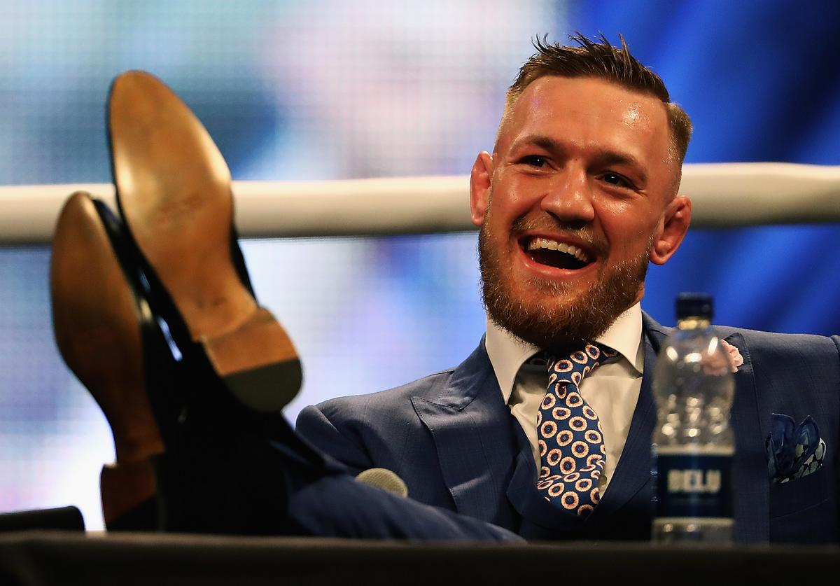 Floyd Mayweather Jr. v Conor McGregor World Press Tour - London