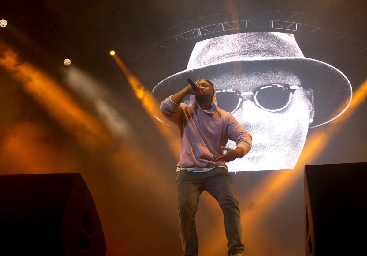 Schoolboy Q 2017 BET Experience STAPLES Center - Concert Sponsored By Sprite - Night 3