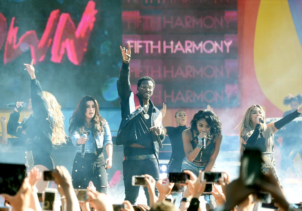 """Gucci Mane & Fifth Harmony Perform """"Down"""" On Good Morning America"""
