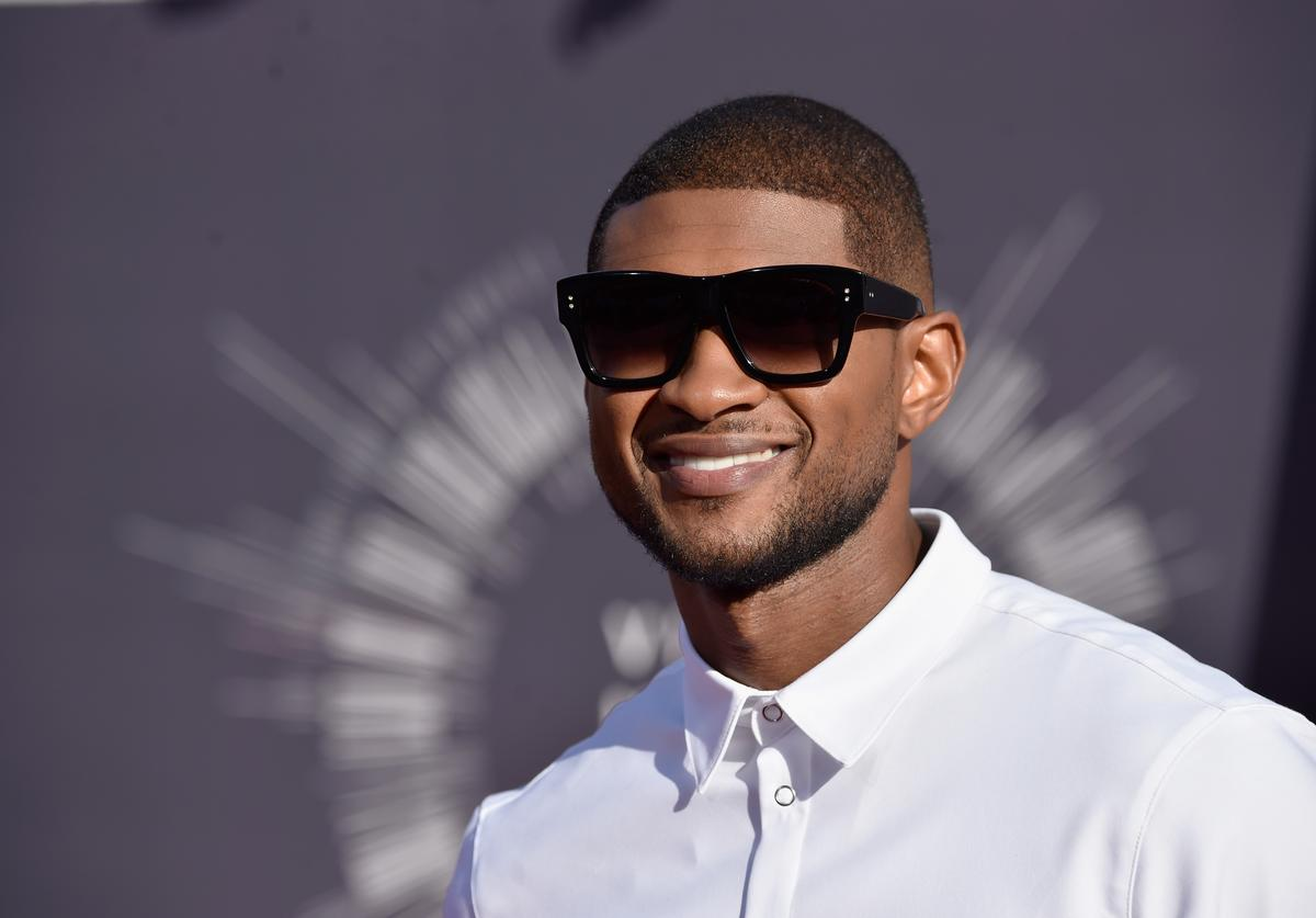 Usher 2014 MTV Video Music Awards - Arrivals