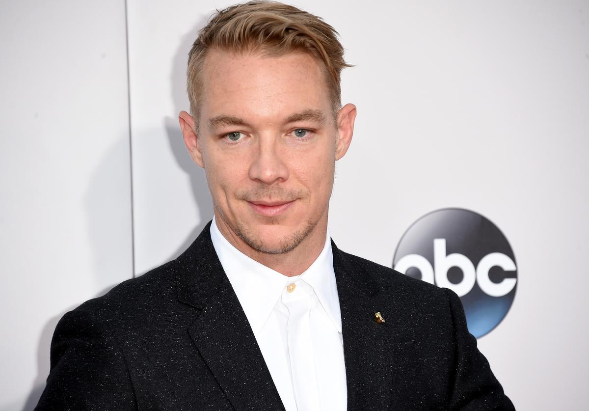 Diplo 2015 American Music Awards - Arrivals