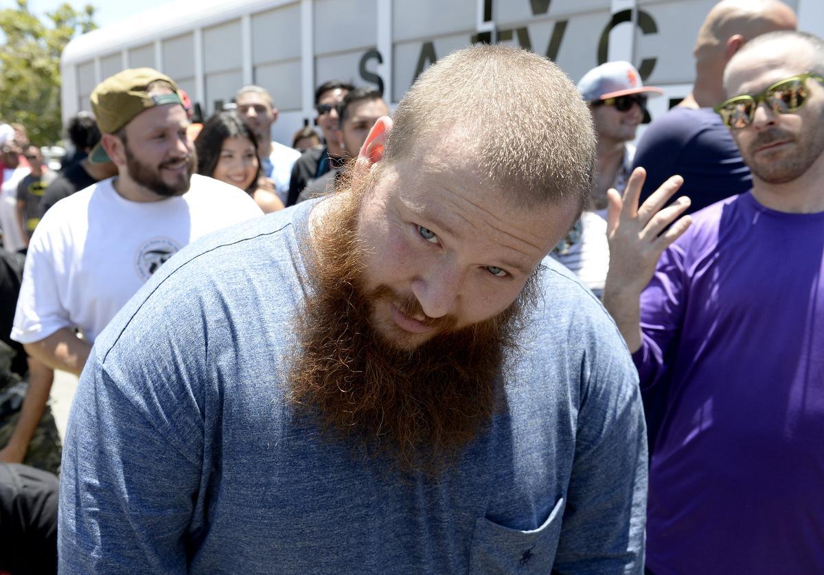 Action Bronson At The 'VICELAND' Comic-Con Party Bus