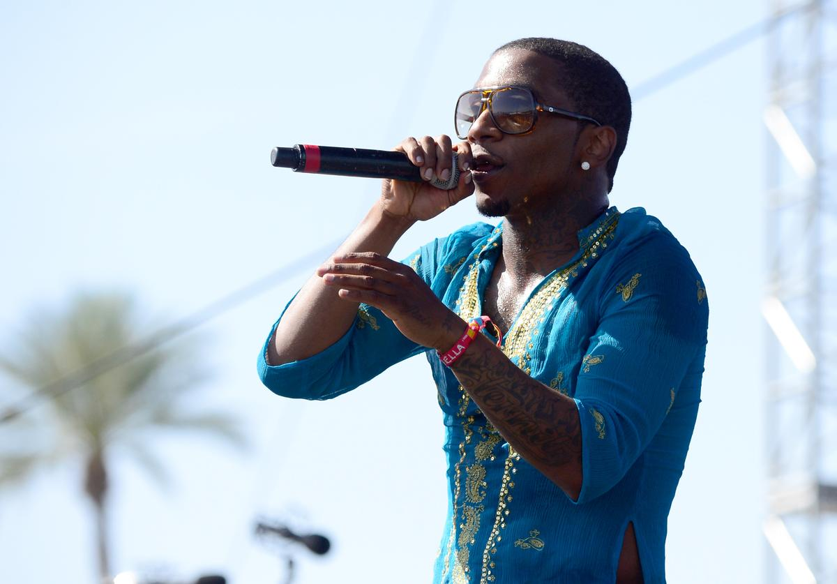 Lil B performs at 2015 Coachella