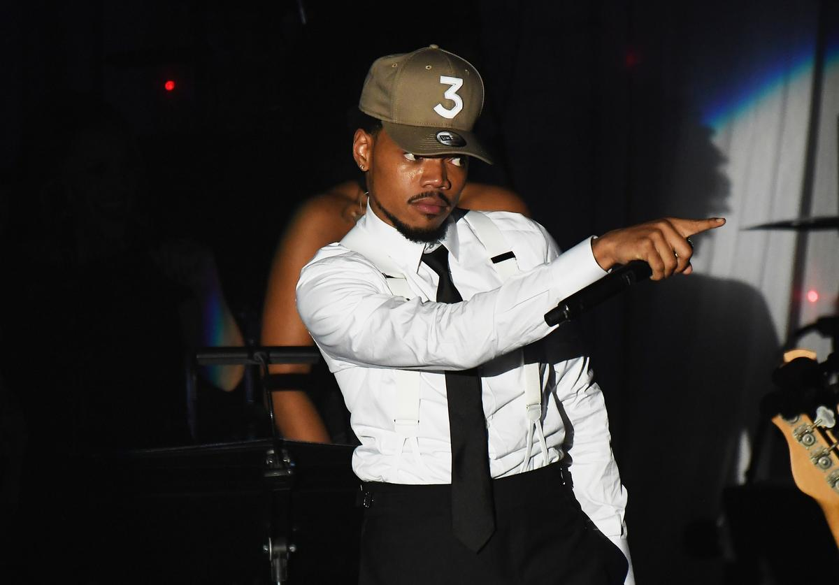 Chance the Rapper Clive Davis' and the Recording Academy's 2017 Pre-GRAMMY Gala and Salute To Industry Icons Honoring Debra Lee - Show