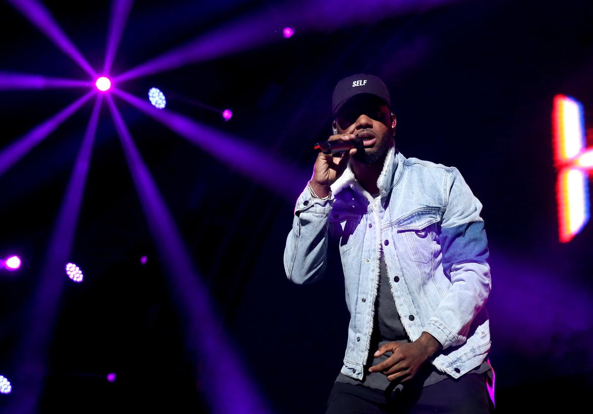 Bryson Tiller 2017 BET Experience - STAPLES Center Concert Presented By Coca-Cola - Night 2
