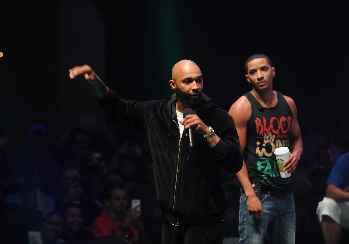Joe Budden Total Slaughter: The Biggest Rap Battle Event Ever, Hosted By Shady Films, Slaughterhouse And WatchLOUD.com - Inside