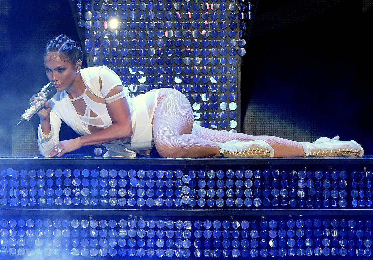 Jennifer Lopez 2015 iHeartRadio Music Festival - Night 2 - Show