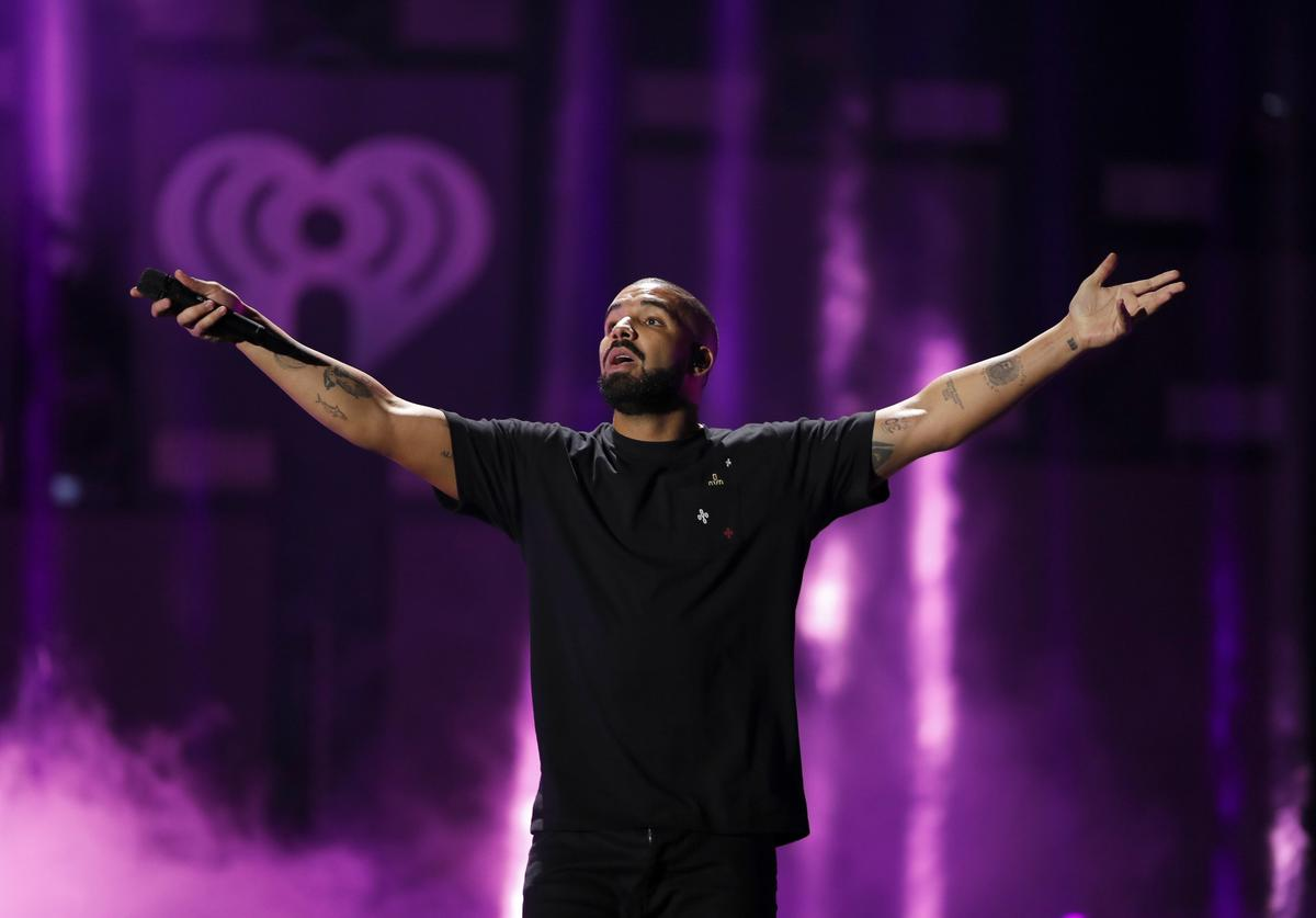 Drake 2016 iHeartRadio Music Festival - Night 1 - Show