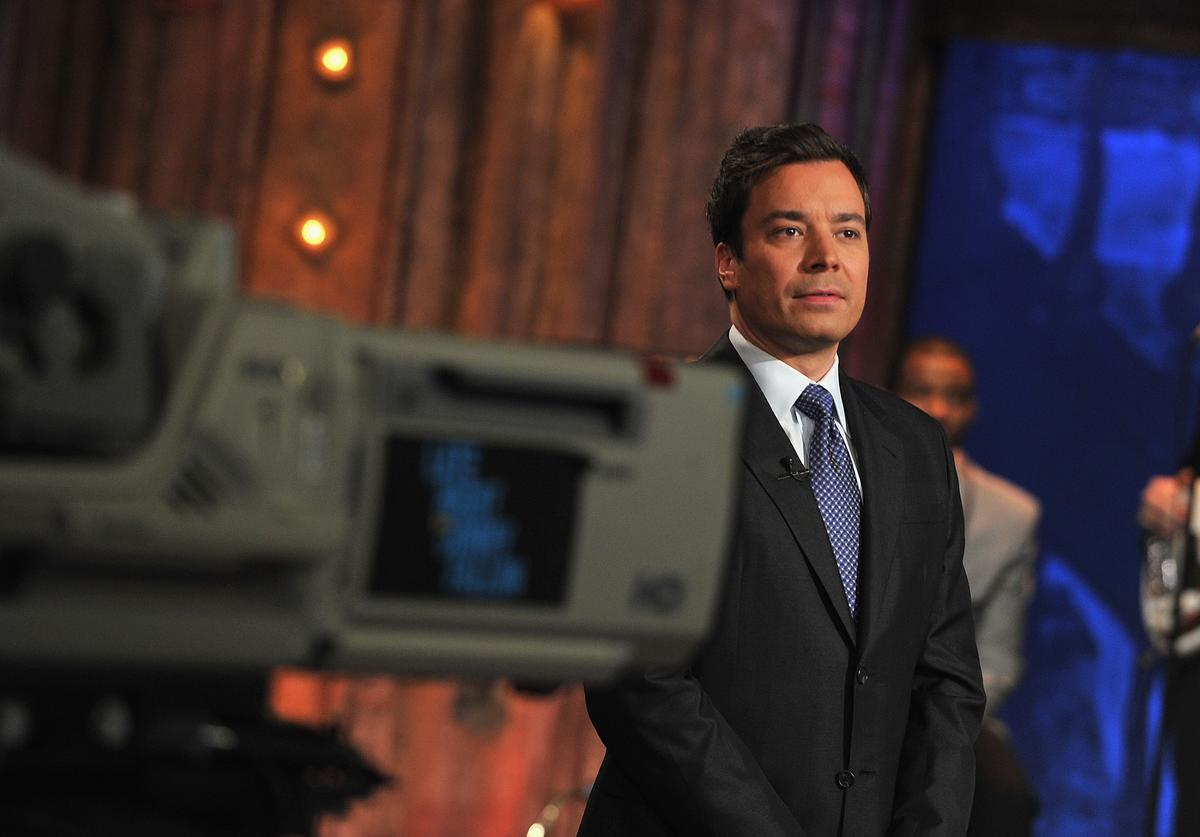 Celebrities Visit 'Late Night With Jimmy Fallon' - March 1, 2011