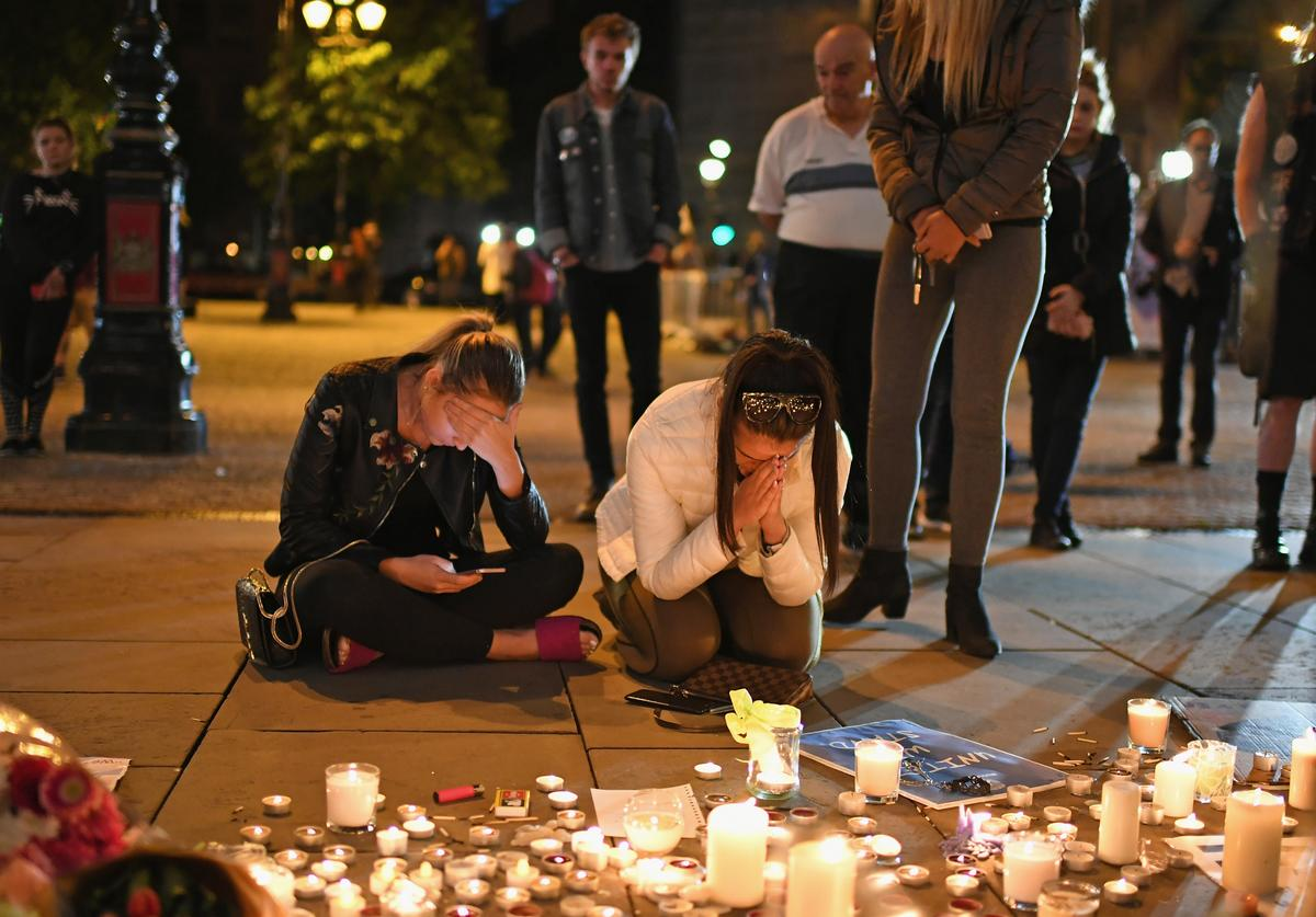 Manchester Comes Together to Remember Victims Of Terror Attack
