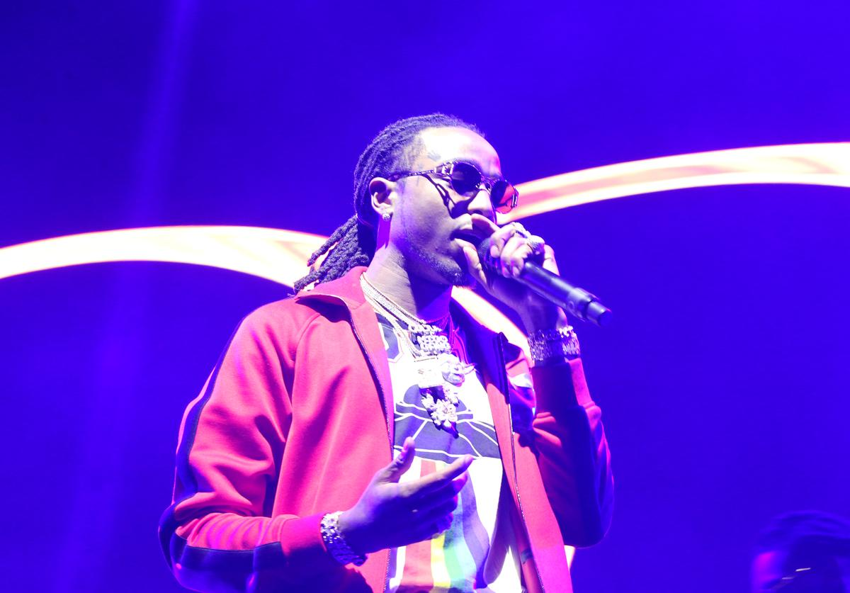 Quavo at 2017 BET Awards