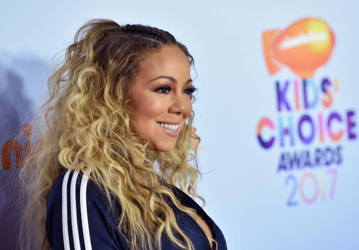 Mariah Carey at 2017 Kids Choice Awards