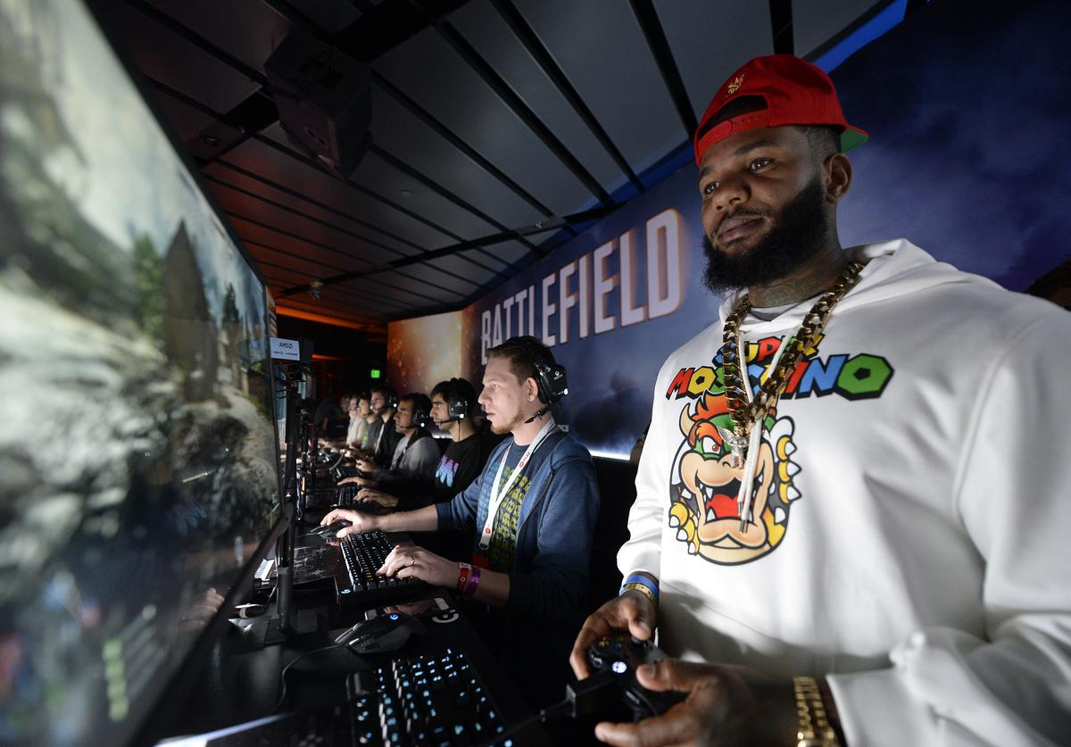 The Game at Game Makers EA Sports Conference