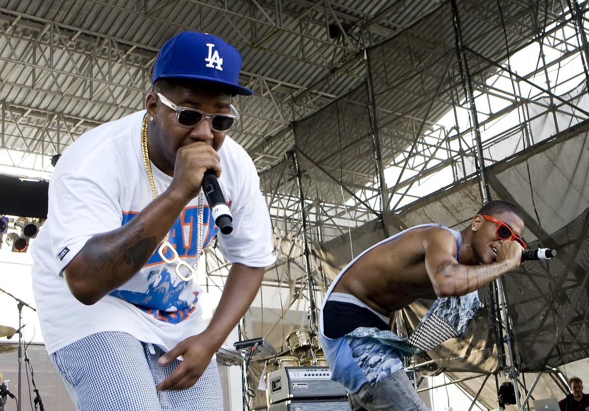 The Cool Kids perform at The Roots Picnic