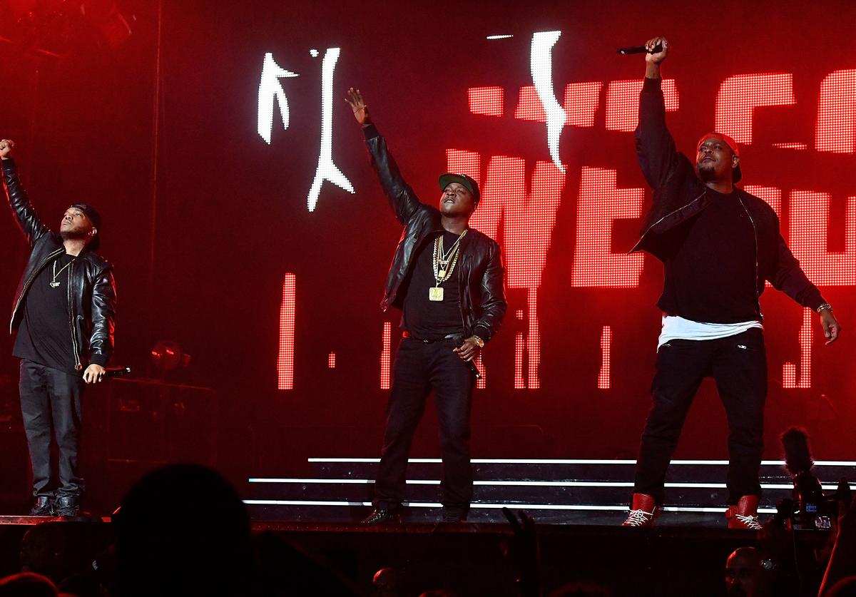 The Lox at Diddy's Bad Boy Reunion Concert