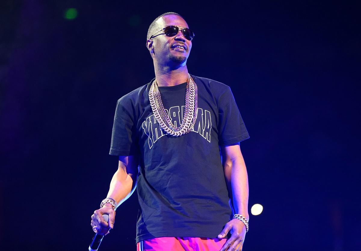 Juicy J at 2014 Powerhouse Concert